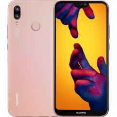Mobiltelefon, Huawei P20 Lite 64GB DualSim kártyafüggetlen, 1+1 év garancia, pink
