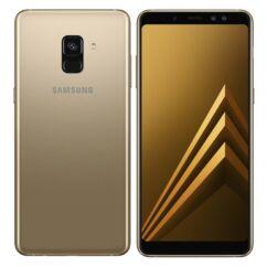 Mobiltelefon, Samsung A530F Galaxy A8 2018 32GB 4G LTE Kártyafüggetlen, 1+1 év garancia, arany