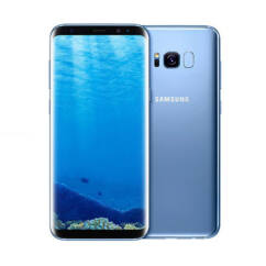 Mobiltelefon, Samsung G955 Galaxy S8 Plus 64GB DualSim, Kártyafüggetlen, 1 év garancia, kék