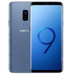 Mobiltelefon, Samsung G965 Galaxy S9 Plus DualSim 64GB kártyafüggetlen, 1+1 év garancia, kék