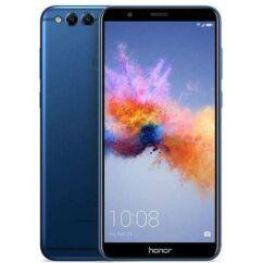Mobiltelefon, Huawei Honor 7X 64GB DualSim kártyafüggetlen, 1 év garancia, kék