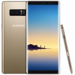 Mobiltelefon, Samsung N950F Galaxy Note 8 64GB 4G LTE Kártyafüggetlen, 1 év garancia, arany