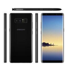 Mobiltelefon, Samsung N950F Galaxy Note 8 64GB 4G LTE Kártyafüggetlen, 1 év garancia, fekete