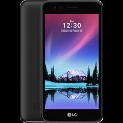 Mobiltelefon, LG M160 K4 (2017) LTE Kártyafüggetlen, 1+1 év garancia, titán