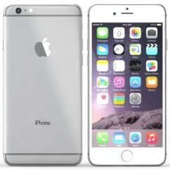 Mobiltelefon, Apple iPhone 6S 64GB használt, 1 hónap garancia, ezüst