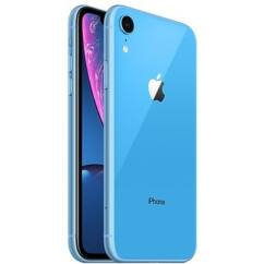 Mobiltelefon, Apple iPhone XR 128GB, Kártyafüggetlen, 1év garancia, kék