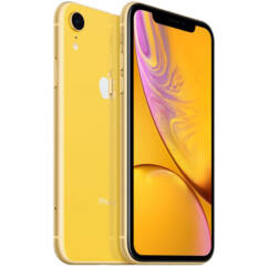 Apple iPhone XR 128GB, Mobiltelefon, sárga