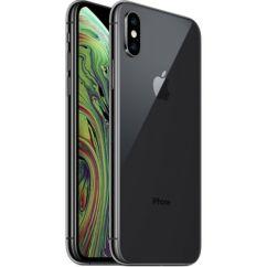 Mobiltelefon, Apple iPhone XS 512GB, Kártyafüggetlen, 1év garancia, szürke