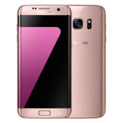 Mobiltelefon, Samsung G935F Galaxy S7 Edge LTE 32GB, Kártyafüggetlen, 1 év garancia, pink