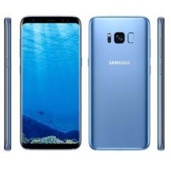 Mobiltelefon, Samsung G950F Galaxy S8 64GB Kártyafüggetlen, 1 év garancia, kék