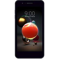 Mobiltelefon, LG LM-X210EMW K9 (2018) 16GB Kártyafüggetlen, 1 év garancia, fekete