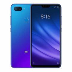 Mobiltelefon, Xiaomi Mi 8 Lite DualSim 128GB Kártyafüggetlen, 6 hónap garancia, kék