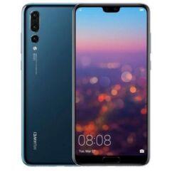 Mobiltelefon, Huawei P20 Pro 128GB DualSim 4G LTE, kártyafüggetlen, 1 év garancia, kék