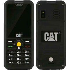Caterpillar B30 DualSIM, Mobiltelefon, fekete