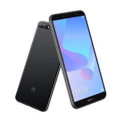 Huawei Y6 2018 4G LTE DualSIM, (Kártyafüggetlen 1 év garancia), Mobiltelefon, fekete
