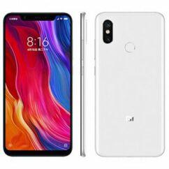 Mobiltelefon, Xiaomi MI 8 128GB DualSim Kártyafüggetlen, 6 hónap garancia, fehér