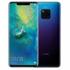 Mobiltelefon, Huawei Mate 20 128GB DualSim, kártyafüggetlen, 1 év garancia, twilight