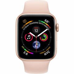 Apple Watch 4 (MU682) 40mm (Bemutató darab), Okosóra, arany