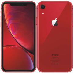 Mobiltelefon, Apple iPhone XR 64GB, Kártyafüggetlen, 1év garancia, piros