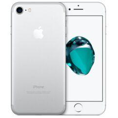 Mobiltelefon, Apple iPhone 7 128GB használt, kártyafüggetlen, 1 hónap garancia, ezüst