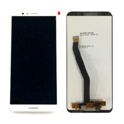 Huawei Honor 7A, LCD kijelző érintőplexivel, fehér