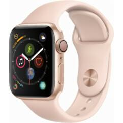 Apple Watch 4 (MU692) Sport Loop GPS 40mm, Okosóra, arany-pink