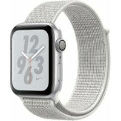 Apple Watch 4 (MU7F2) 40mm Sport Loop, Okosóra, ezüst-fehér