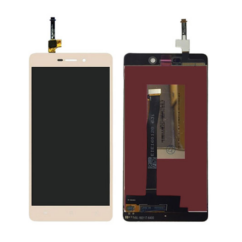 LCD kijelző, Xiaomi Mi3s, Redmi 3, 3S érintőplexivel, arany