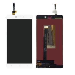 LCD kijelző, Xiaomi Mi3s, Redmi 3, 3S érintőplexivel, fehér