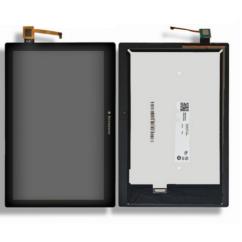 LCD kijelző, Lenovo TB3-X70 Tab 3 10 Plus érintőplexivel, fekete