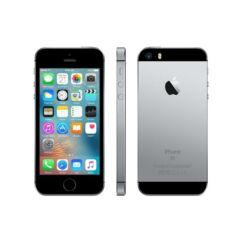 Mobiltelefon, Apple iPhone SE 128GB, Preowned, Kártyafüggetlen, 1év garancia, szürke
