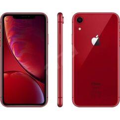 Mobiltelefon, Apple iPhone XR 256GB, Kártyafüggetlen, 1év garancia, piros