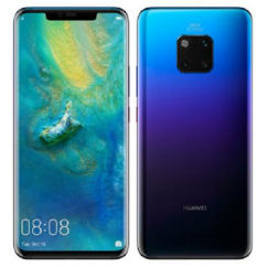 Huawei Mate 20 Pro 128GB DualSIM, (Kártyafüggetlen 1 év garancia), Mobiltelefon, twilight