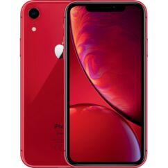 Mobiltelefon, Apple iPhone XR 128GB, Kártyafüggetlen, 1év garancia, piros