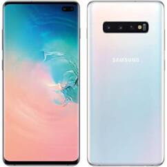 Mobiltelefon, Samsung G973F Galaxy S10 128GB DualSim, kártyafüggetlen, 1 év garancia, fehér