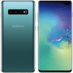 Mobiltelefon, Samsung G973F Galaxy S10 128GB DualSim,  kártyafüggetlen, 1 év garancia, zöld