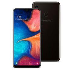 Mobiltelefon, Samsung A205F Galaxy A20 32GB Kártyafüggetlen, 1év garancia, fekete