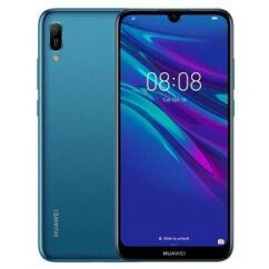 Mobiltelefon, Huawei Y6 2019 32GB DualSim, Kártyafüggetlen, 1 év garancia, kék