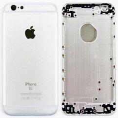 Apple iPhone 6S, Akkufedél, ezüst