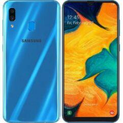Samsung A305F Galaxy A30 32GB DualSIM, (Kártyafüggetlen 1 év garancia), Mobiltelefon, kék