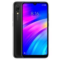 Mobiltelefon, Xiaomi Redmi 7 32GB DualSim, kártyafüggetlen, 1 év garancia, fekete