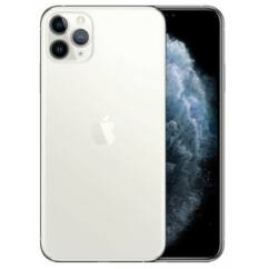Apple iPhone 11 Pro Max 256GB 6.5, (Kártyafüggetlen 1 év garancia), Mobiltelefon, ezüst