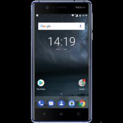 Mobiltelefon, Nokia 3 16GB  Kártyafüggetlen, 1 év garancia, fekete