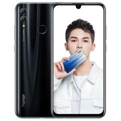 Mobiltelefon, Huawei Honor 10 Lite 64GB DualSim, kártyafüggetlen, 1 év garancia, fekete
