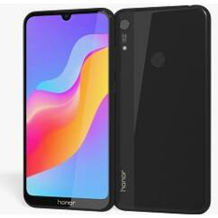 Mobiltelefon, Huawei Honor 8A 32GB DualSim, kártyafüggetlen, 1 év garancia, fekete