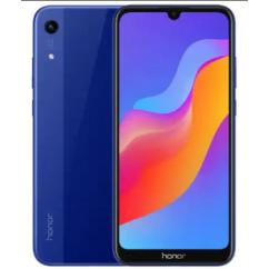 Mobiltelefon, Huawei Honor 8A 32GB DualSim, kártyafüggetlen, 1 év garancia, kék