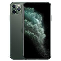 Apple iPhone 11 Pro Max 256GB 6.5, (Kártyafüggetlen 1 év garancia), Mobiltelefon, zöld