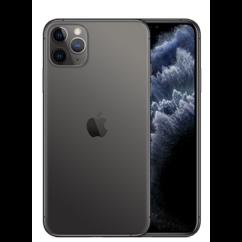 Mobiltelefon, Apple iPhone 11 Pro Max 64GB 6.5, Kártyafüggetlen, 1év garancia, szürke