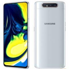 Samsung A805 Galaxy A80 128GB DualSIM, (Kártyafüggetlen 1 év garancia), Mobiltelefon, fehér