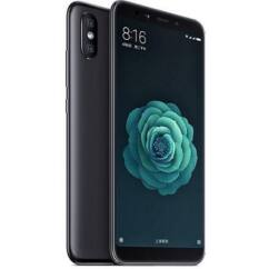 Mobiltelefon, Xiaomi MI A2 Lite 64GB DualSim, Kártyafüggetlen, 1 év garancia, fekete